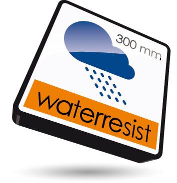 Wasserfest bis 300mm