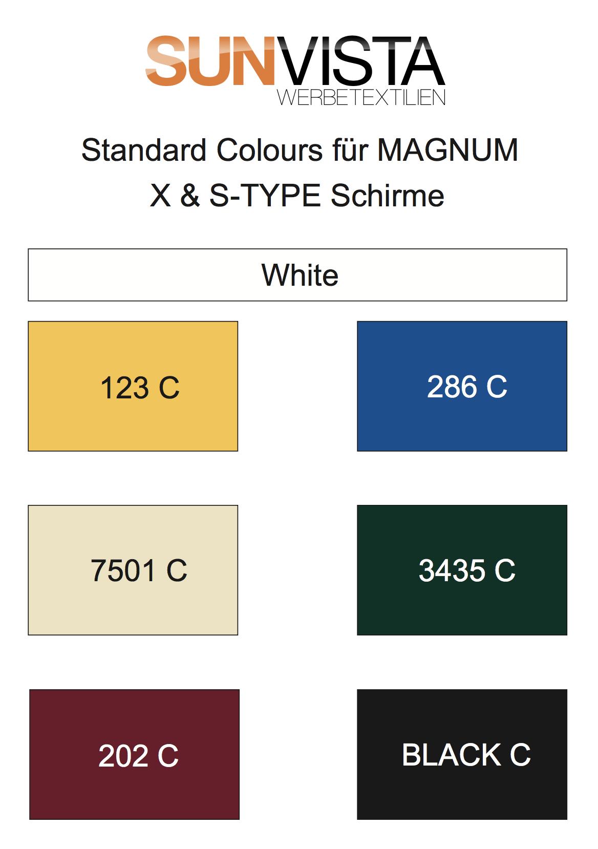 Standardfarben Magnum